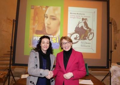Michela Monferrini e Gigliola Alvisi  finaliste XVI edizione del Premio