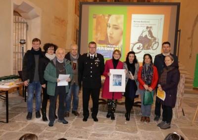 Premiazione vincitrice sezione narrativa 11-14 anni: Gigliola Alvisi-Seconda classificata Michela Monferrini