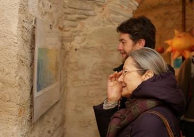 Inaugurazione mostra di illustrazione di Maja Celjia Vincitrice Premio Emanuele Luzzati della XV edizione