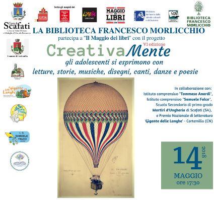 CreativaMente, progetto della Biblioteca Comunale 'Francesco Morlicchio' Scafati