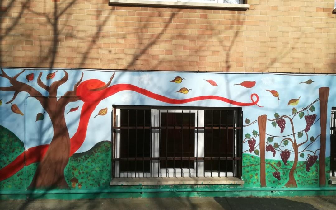 Inaugurazione Murales del gigante